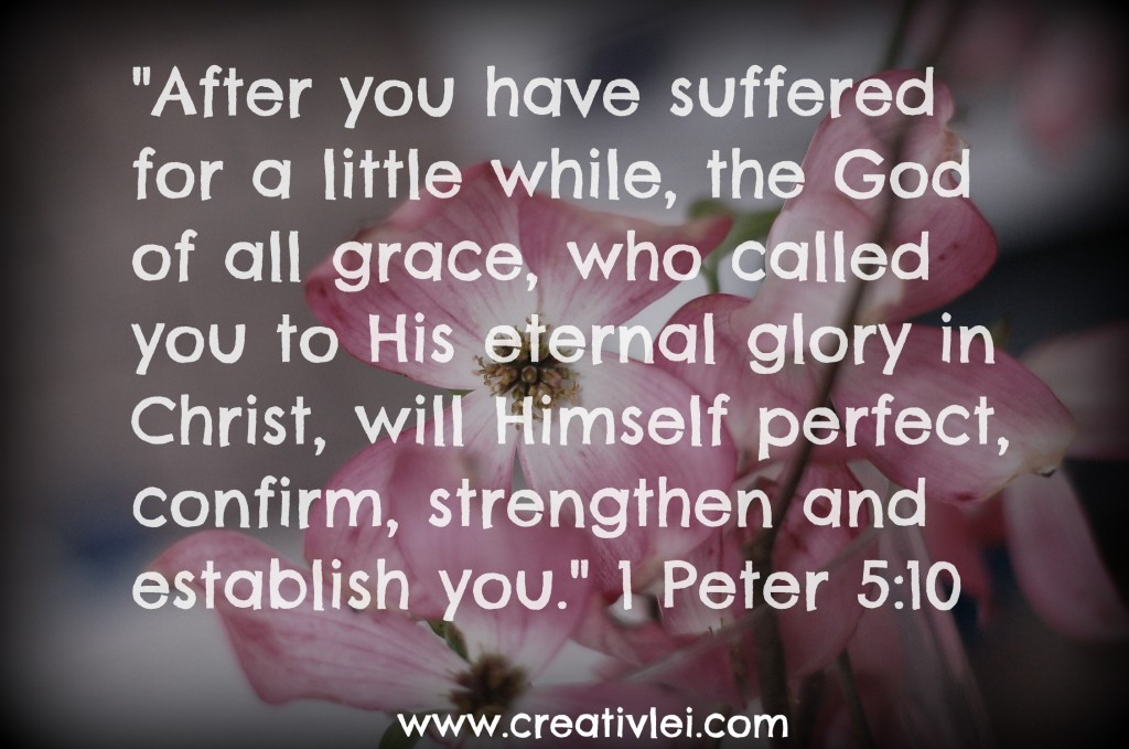 Image result for 1 Peter 5:10
